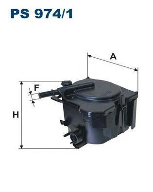 Фильтр топливный Filtron PS974/1PS974/1