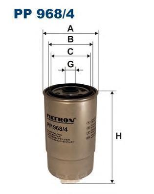 Фильтр топливный Filtron PP968/4PP968/4