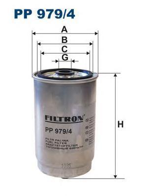 Фильтр топливный Filtron PP979/4PP979/4