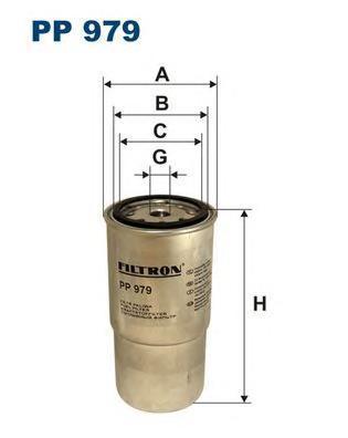 Фильтр топливный Filtron PP979PP979