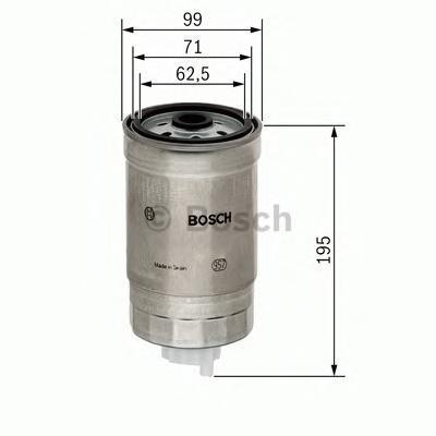 Фильтр топливный Bosch 14574344021457434402