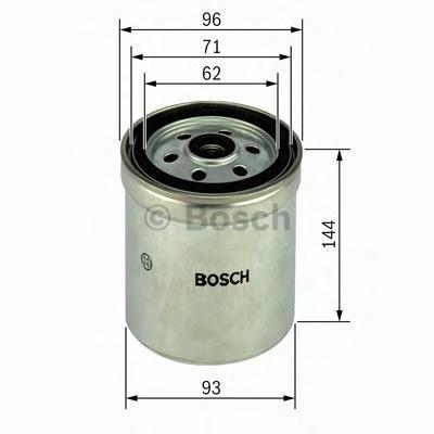 Фильтр топливный Bosch 14574344211457434421