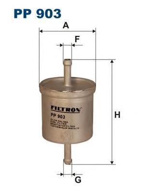 Фильтр топливный Filtron PP903PP903