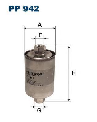 Фильтр топливный Filtron PP942PP942