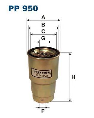Фильтр топливный Filtron PP950PP950