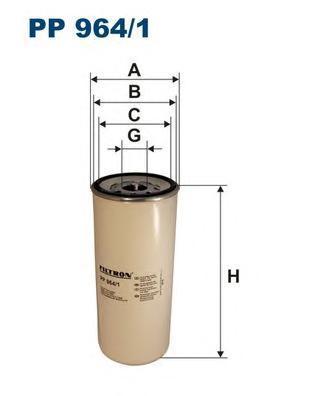 Топливный фильтр Filtron PP9641PP9641Фильтр топливный Filtron. PP9641