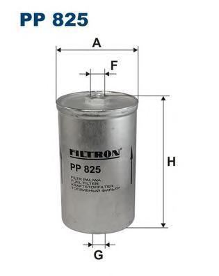Фильтр топливный Filtron PP825PP825
