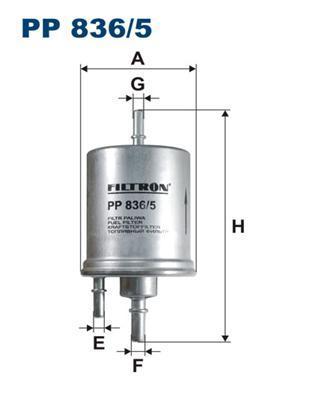 Фильтр топливный Filtron PP836/5PP836/5