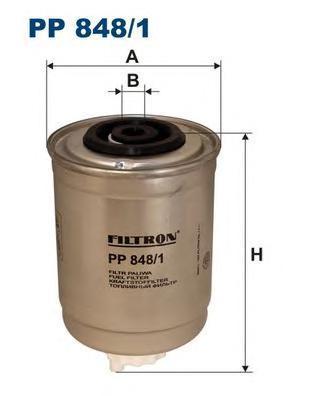 Топливный фильтр Filtron PP8481PP8481Фильтр топливный Filtron. PP8481