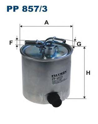Фильтр топливный Filtron PP857/3PP857/3