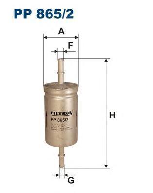 Фильтр топливный Filtron PP865/2PP865/2