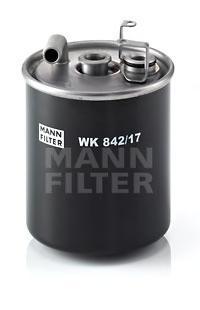Фильтр топливный Mann-Filter WK842/17WK842/17