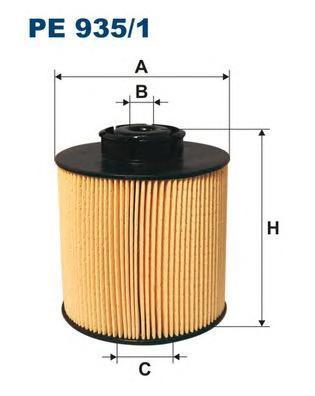 Фильтр топливный Filtron PE935/1PE935/1