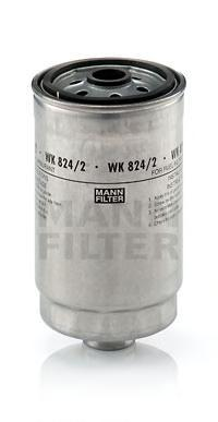 Фильтр топливный Mann-Filter WK824/2WK824/2