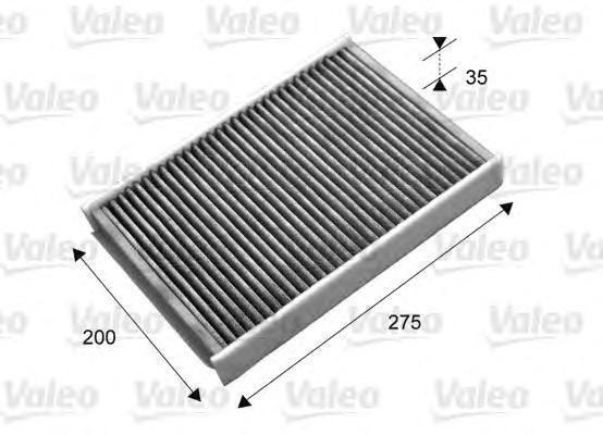 Фильтр салонный угольный Valeo 715702715702