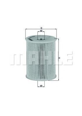 Фильтр топливный Mahle KX231DKX231D