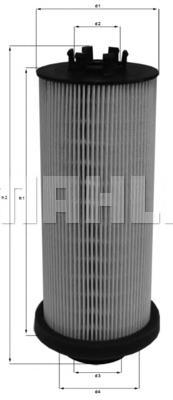 Фильтр топливный Mahle KX262DKX262D