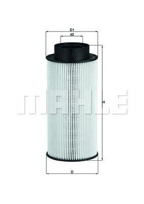 Фильтр топливный Mahle KX182DKX182D