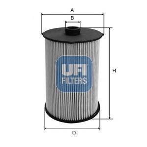 Фильтр топливный дизель UFI 26.043.0026.043.00