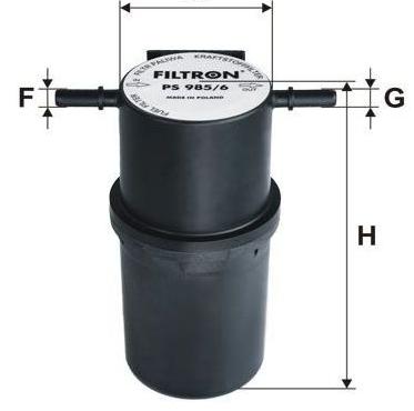 Фильтр топливный Filtron PS985/6PS985/6