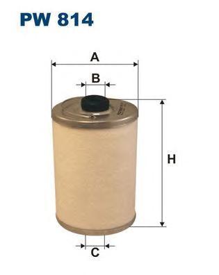 Фильтр топливный Filtron PW814PW814