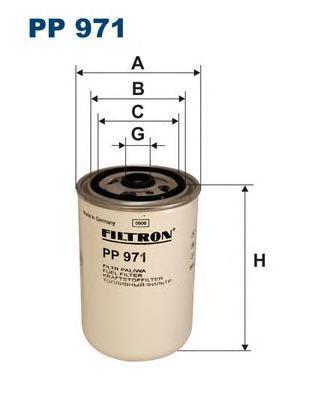 Фильтр топливный Filtron PP971PP971