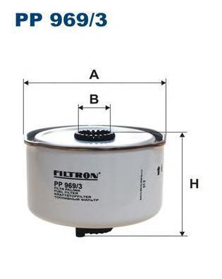 Фильтр топливный Filtron PP969/3PP969/3