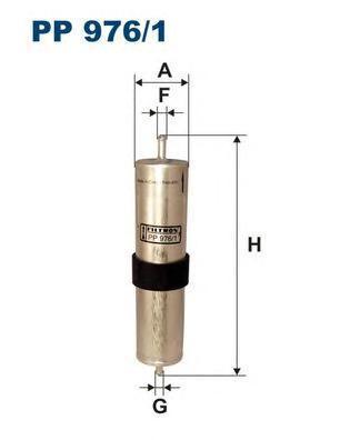 Фильтр топливный Filtron PP976/1PP976/1
