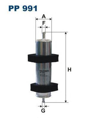 Фильтр топливный Filtron PP991PP991
