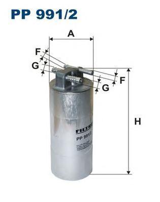 Фильтр топливный Filtron PP991/2PP991/2