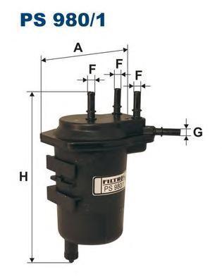 Фильтр топливный Filtron PS980/1PS980/1