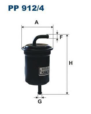 Фильтр топливный Filtron PP912/4PP912/4
