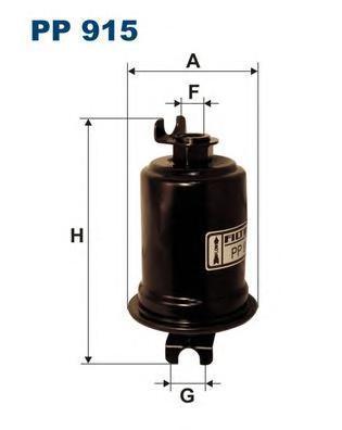 Фильтр топливный Filtron PP915PP915