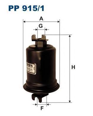 Фильтр топливный Filtron PP915/1PP915/1