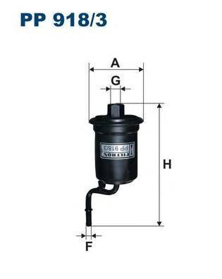 Фильтр топливный Filtron PP918/3PP918/3