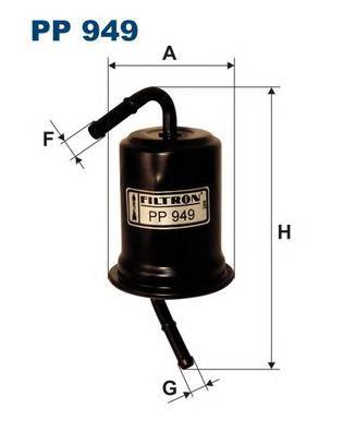Фильтр топливный Filtron PP949PP949