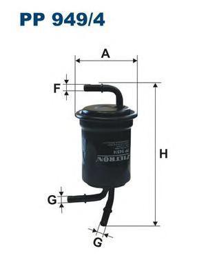 Фильтр топливный Filtron PP949/4PP949/4