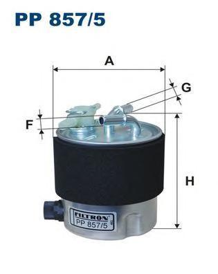 Фильтр топливный Filtron PP857/5PP857/5