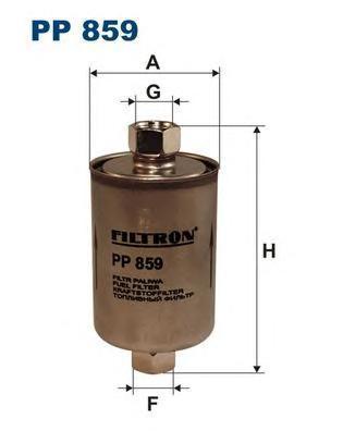 Фильтр топливный Filtron PP859PP859