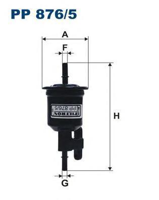 Фильтр топливный Filtron PP876/5PP876/5