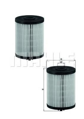 Фильтр топливный Mahle,KX200D/SKX200D/S