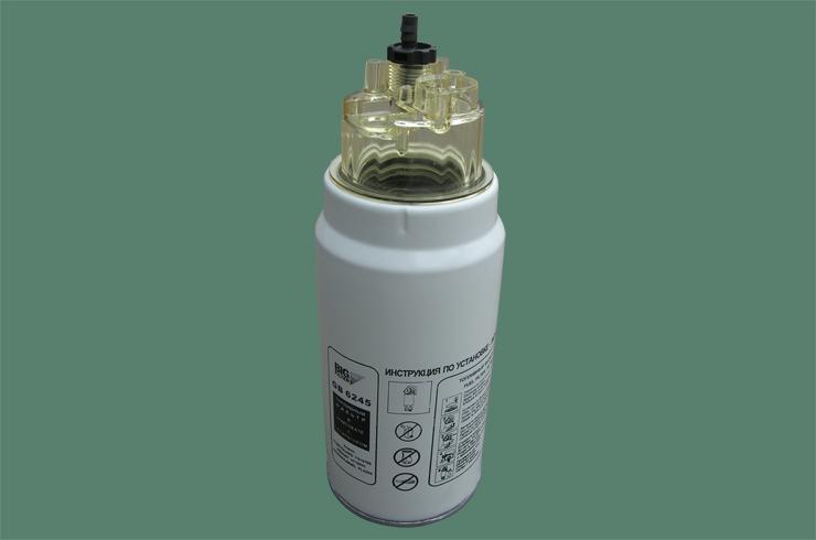 Фильтр топливный BIG FILTER, с колбой GB-6245GB-6245
