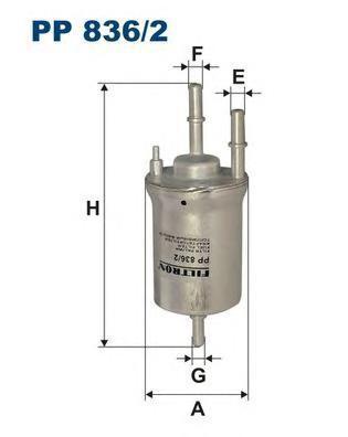 Фильтр топливный Filtron PP836/2PP836/2