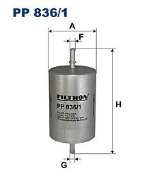 Фильтр топливный Filtron PP836/1PP836/1