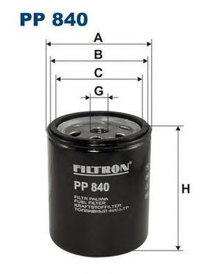 Фильтр топливный Filtron PP840PP840