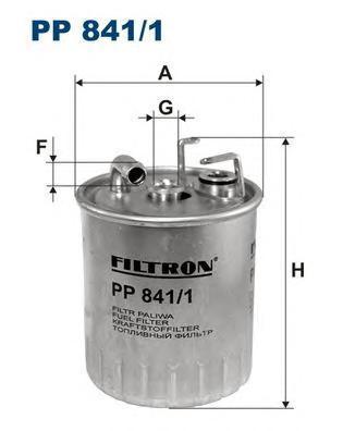 Фильтр топливный Filtron PP841/1PP841/1