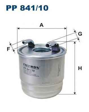 Фильтр топливный Filtron PP841/10PP841/10