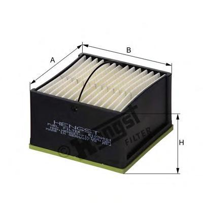 Фильтр топливный Hengst E1030K01E1030K01
