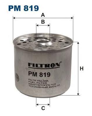 Фильтр топливный Filtron PM819PM819