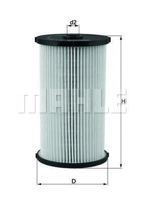 Фильтр топливный Mahle KX220DKX220D